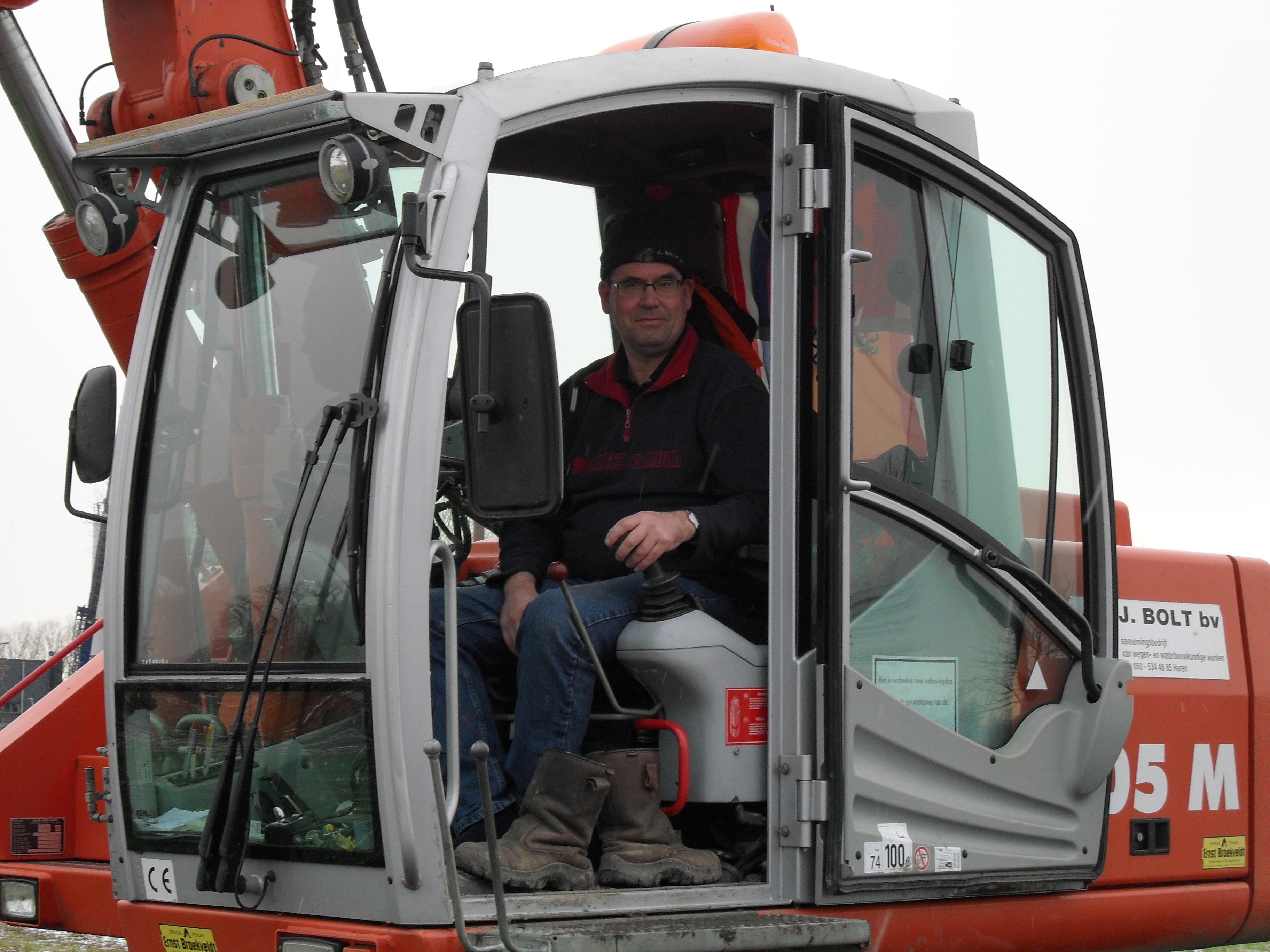 Martinus - Machinist Mobiele Kraan